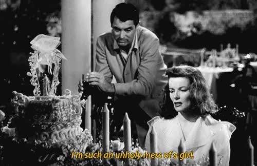 Watch and share Katharine Hepburn GIFs and Cary Grant GIFs on Gfycat