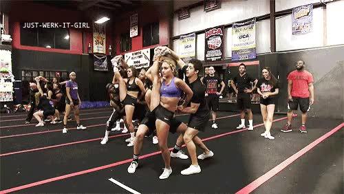 Watch and share Spartan Cheerleader GIFs on Gfycat
