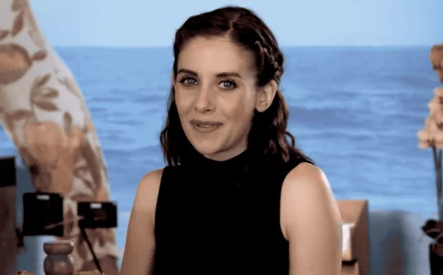 Watch and share Alison Brie GIFs and Flirt GIFs by Reactions on Gfycat