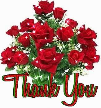 Watch and share Thank You Shiny Roses Bouquet GIFs on Gfycat