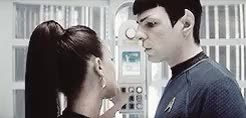 Watch sci-fi girl GIF on Gfycat. Discover more **, gifs, movies, nyota uhura, requests, spock, spuhura, star trek 2009, star trek aos, trekedit GIFs on Gfycat