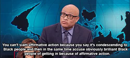 Watch and share Affirmative Action GIFs and The Nightly Show GIFs on Gfycat