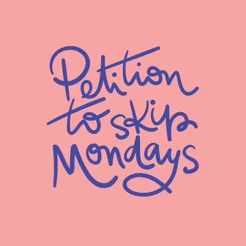 Watch and share Days Of The Week GIFs and Mondays GIFs by Reactions on Gfycat