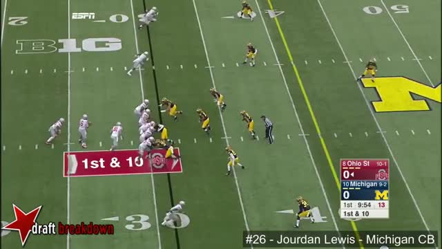 Watch and share Jourdan Lewis (Michigan CB) Vs Ohio State 2015 GIFs by sio-kedelic on Gfycat
