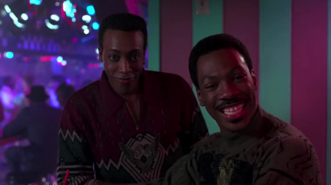 arsenio hall, celebs, coming to america, eddie murphy, interested, interesting, smile, smiling, Coming To America - Interested GIFs