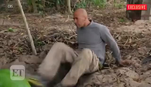 Watch EXCLUSIVE 'Survivor' Premiere Sneak Peak! Tony Upgrades His Infamous 'Spy Shack' to a 'Spy Bunker' GIF on Gfycat. Discover more related GIFs on Gfycat