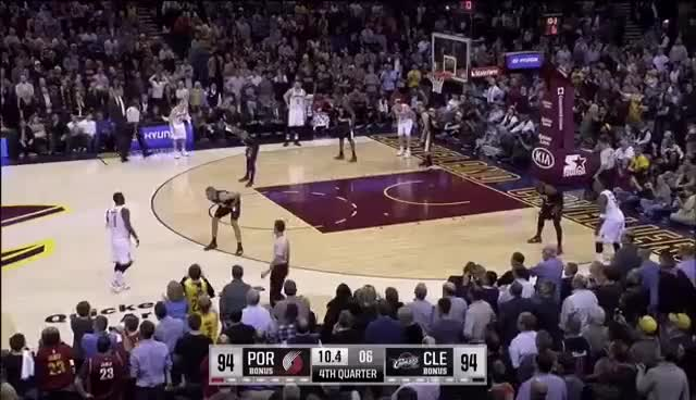 Watch Kyrie Irving Game winner vs Portland GIF on Gfycat. Discover more related GIFs on Gfycat