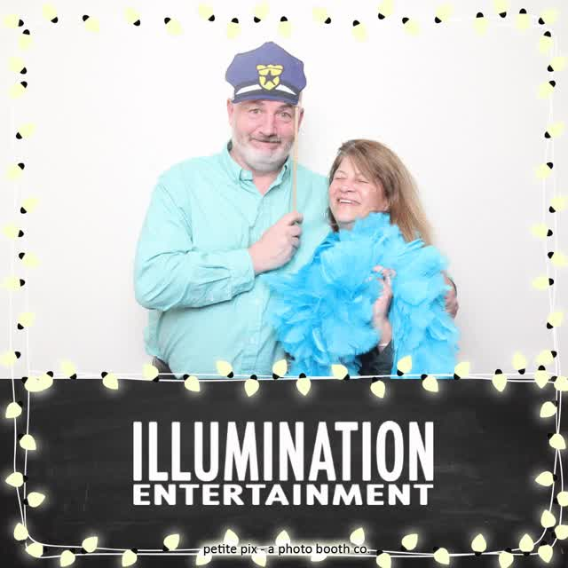 Watch and share Petite Pix Vintage Photo Booth At The Jonathan Beach Club For The Illumination Entertainment Holiday Party GIFs on Gfycat