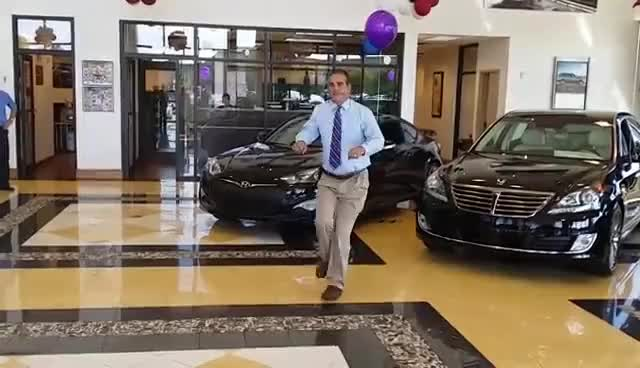 Watch Not your AVERAGE JOE!! Dancing Car Salesman Joseph GIF on Gfycat. Discover more related GIFs on Gfycat