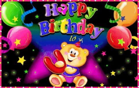 Watch and share Teddybear GIFs and Birthday GIFs on Gfycat