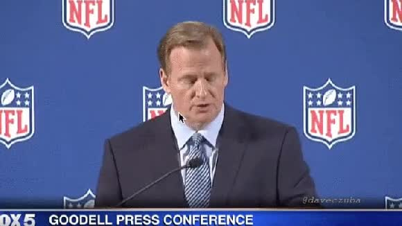 Watch and share Roger Goodell GIFs on Gfycat