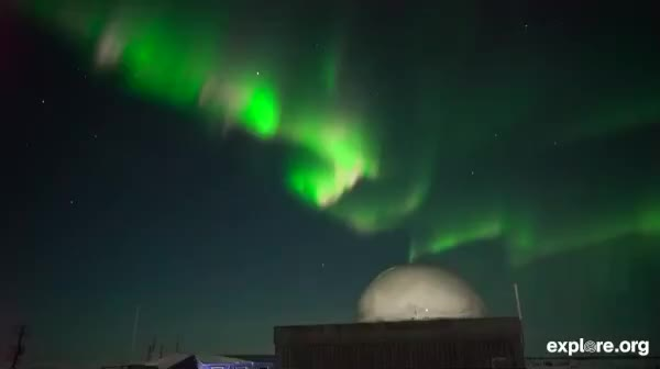 Watch Northern Lights Over the Arctic GIF by Explore.org (@exploreorg) on Gfycat. Discover more Aurora Borealis, Northern Lights, daily dose of love, explore, explore.org, live cam, meditate, meditation, nature, relaxation, zen GIFs on Gfycat