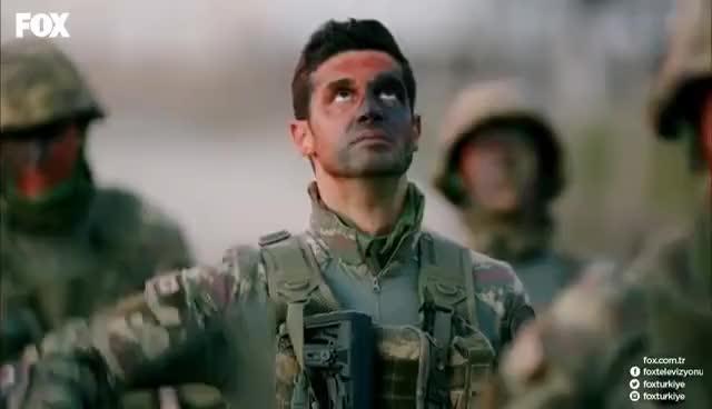 Watch and share Kılıç Timi, Üsteğmen Burak'ın Yasına Rağmen Göndere Çekilen Bayrağa Selam Duruyor... GIFs on Gfycat