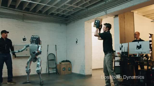Watch and share Boston Dynamics GIFs and Corridor GIFs on Gfycat
