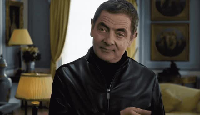 Watch this johnny english GIF by GIF Queen (@ioanna) on Gfycat. Discover more again, agent, aha, atkinson, bean, english, flirt, flirty, it, johnny, johnny english, like, lol, love, mr, mr bean, rowan, secret, special, strikes GIFs on Gfycat