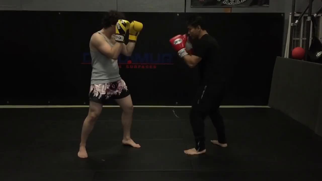 Kickboxing, mma, Hand Traps - Muay Thai & MMA GIFs