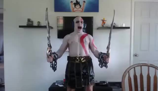 TYLER1 KRATOS/GOD OF WAR INTRO.