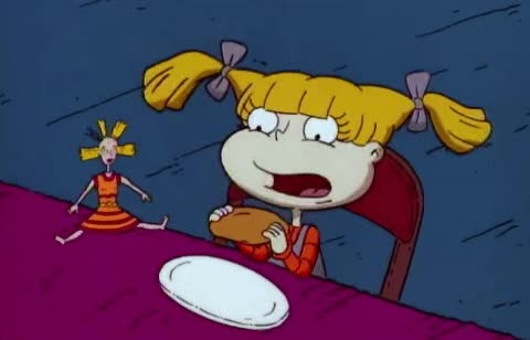 Watch this yikes GIF by GIF Queen (@ioanna) on Gfycat. Discover more angelica, bite, chew, dinner, disgust, disgusting, eat, eating, ew, ewww, family, gross, lunch, nickeloden, rugrats, spit, table, terrible, yikes, yuck GIFs on Gfycat