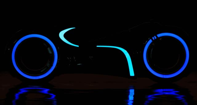 Watch and share RM Andrews 2015 – Real 2011 TRON Light Cycle EV Bike – Just 25k!? GIFs on Gfycat