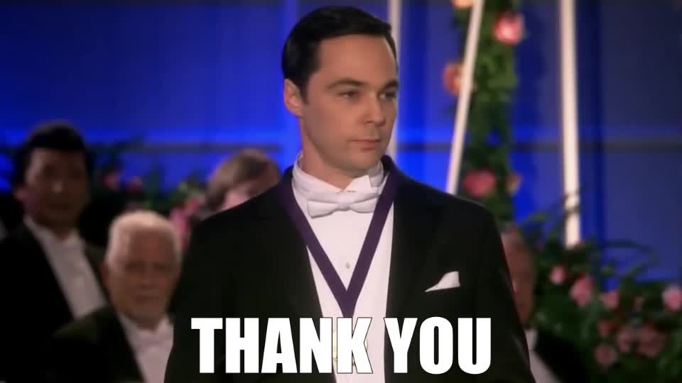 celebs, jim parsons, Sheldon is thankful GIFs