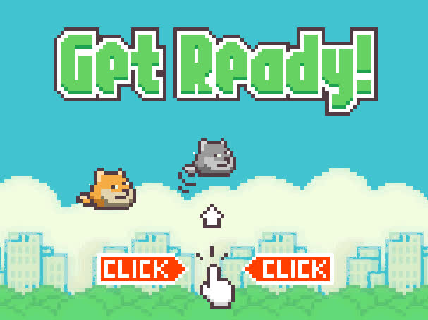 Sad About Flappy Bird? Play Flappy Doge Instead! Such Game, Wow GIFs