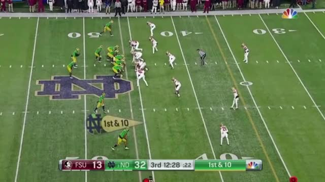 Watch Dexter Williams cut and go vs Florida State GIF by @schaufds on Gfycat. Discover more Draft Sharks, Dynasty Prospect Profile, Hash, NFL Draft, Sports, fantasy football, fifa GIFs on Gfycat