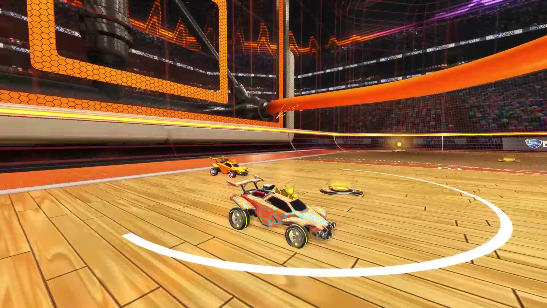 RocketLeague, Network Angle GIFs