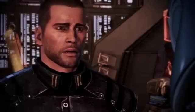 Watch and share Reaction GIFs and Shepard GIFs on Gfycat