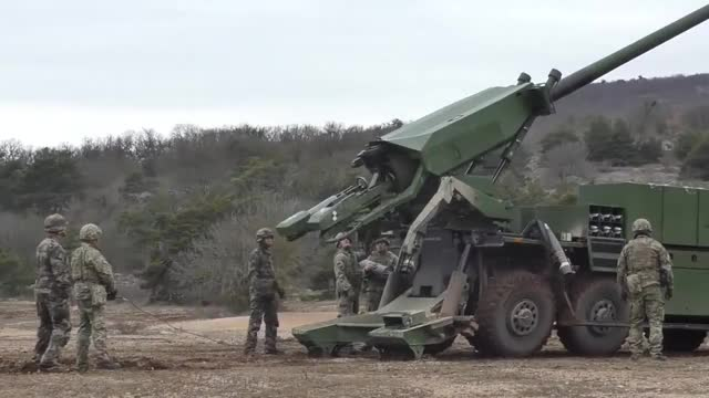 Watch and share Artillery GIFs and Kariuomen GIFs on Gfycat