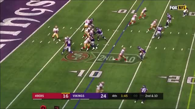 Watch and share San Francisco 49ers GIFs and Minnesota Vikings GIFs by flingi2 on Gfycat