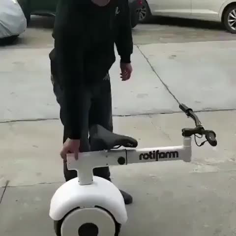Watch Auto unicycle GIF on Gfycat. Discover more related GIFs on Gfycat