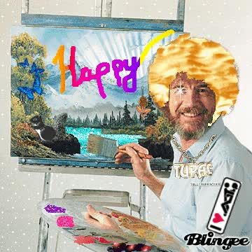 Watch Bob Ross GIF on Gfycat. Discover more related GIFs on Gfycat