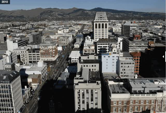 Watch and share An Earthquake Worse Than The 'BigOne'? Shattered New Zealand City Shows Danger Of Seattle Fault GIFs on Gfycat