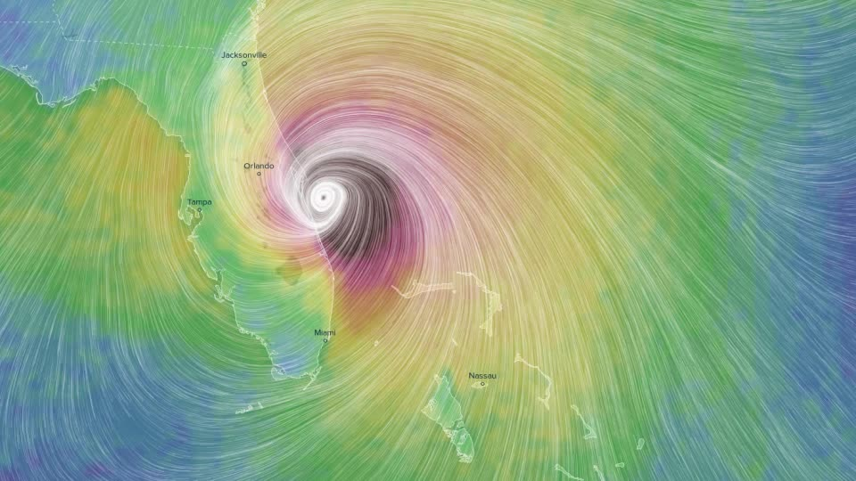 dataisbeautiful, gifs, Hurricane Matthew Eye of the Storm GIFs