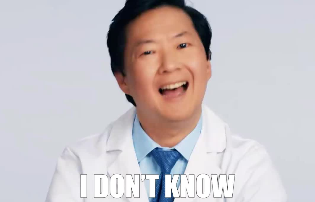 answers, clue, doctor, don't, dr, from, i, jeong, ken, know, lol, md, med, medical, no, questions, support, tech, twitter, wired, Ken Jeong doesn't know GIFs