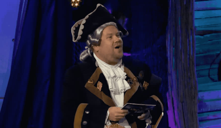 captain, corden, funny, game, ha, haha, he, hehe, hilarious, james, joke, joking, late, laugh, laughing, lol, night, omg, pirate, show, James Corden - lol GIFs