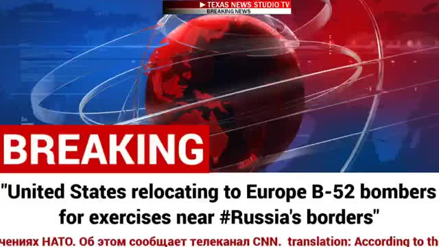United States Relocating to Europe B-52  NUCLEAR BOMBERS NEA GIFs