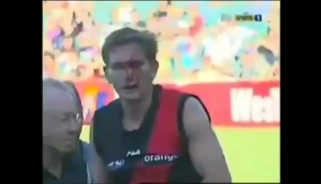 Watch AFL- Worst injuries (DISTURBING) GIF on Gfycat. Discover more related GIFs on Gfycat