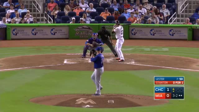 Watch and share Stanton's Solo Home Run GIFs on Gfycat