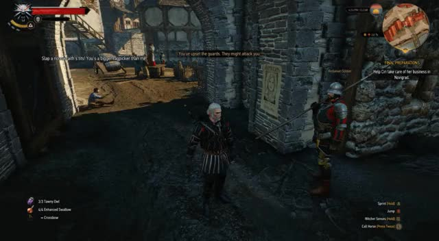 Watch Guards OP GIF by nailolailo on Gfycat. Discover more witcher GIFs on Gfycat