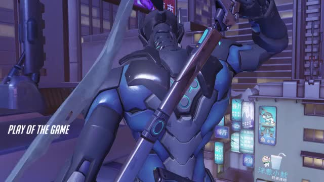 Watch and share Overwatch GIFs and Genji GIFs by ciaran on Gfycat