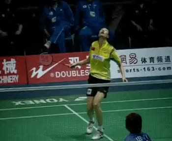 Watch and share Badminton Smash GIFs on Gfycat