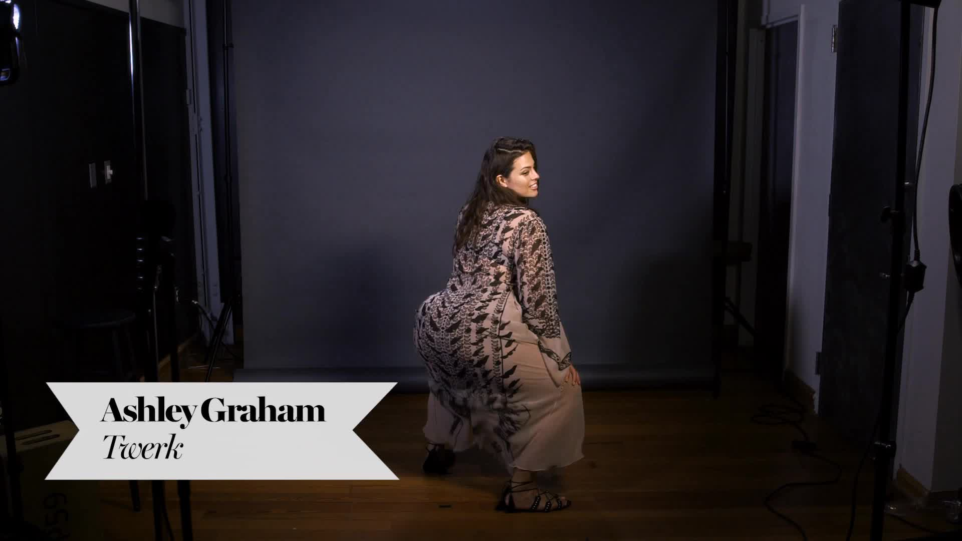 Ashley Graham - Glamour Twerk GIFs