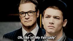 Watch and share Taron Egerton GIFs and Colin Firth GIFs on Gfycat
