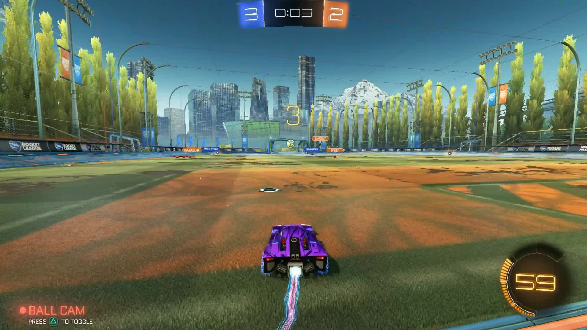 rocketleague, Smooth transition GIFs