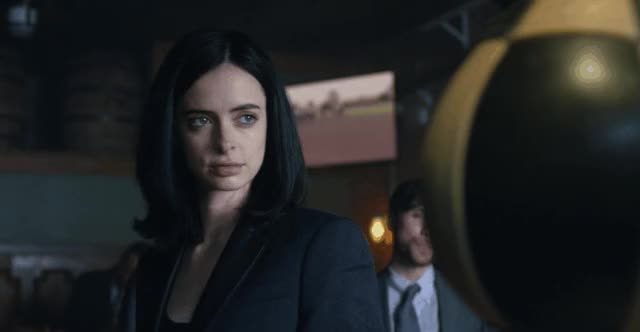 Watch this jessica jones GIF by @sparkplug99 on Gfycat. Discover more jessica jones, krysten ritter, respectthreads, superhero, superheroes GIFs on Gfycat