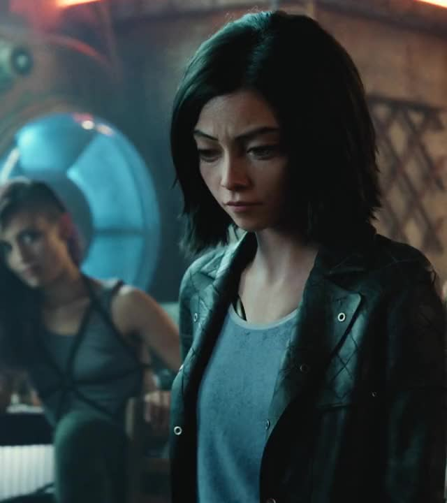 Watch and share Alita Flying Damascus Blade GIFs by Boostbacknland on Gfycat