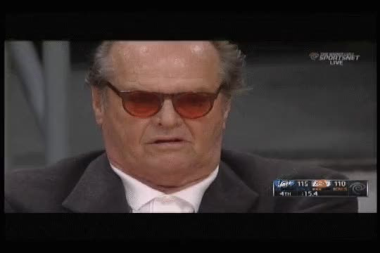 Watch not amused GIF by Reaction GIFs (@sypher0115) on Gfycat. Discover more Jack Nicholson, bored, notamused, uninterested GIFs on Gfycat