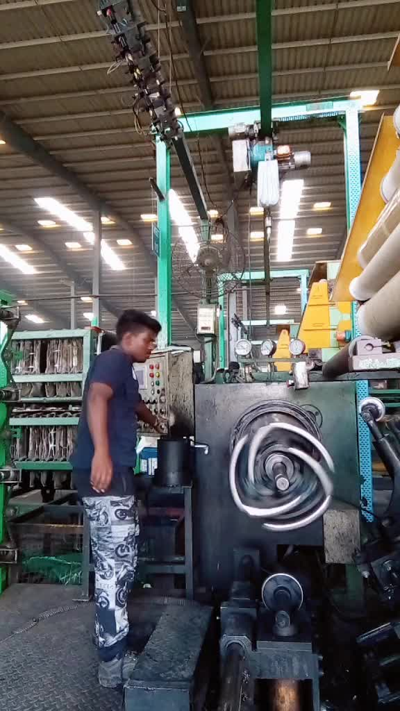 Watch and share Machine In Tyre Factory GIFs by EngineerScientist on Gfycat