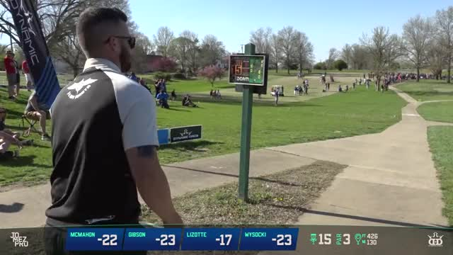 Watch and share Glass Blown Open GIFs and 2018 Disc Golf GIFs by Benn Wineka UWDG on Gfycat